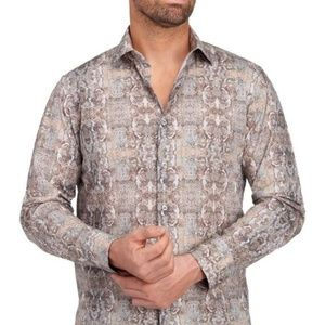 Nordstrom Tallia Paisley Button Down Men's Shirt